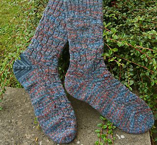 Switchback two diff socks