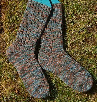 Switchback socks