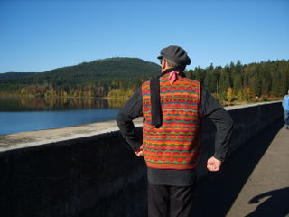 Chris waistcoat black forest 25oct08