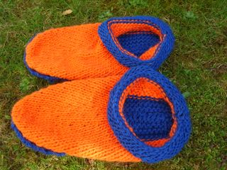 Felted Clog Slippers Crochet Pattern - Floral Clog Slippers