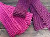Pompom scarves