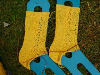 Mystery socks clue 3
