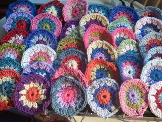 36 crochet circle