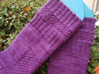 Little cild socks close up