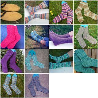 Mosaic fo2011 socks
