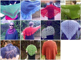 Mosaic fo2011 shawls