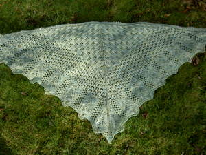 Bee fields shawl 0807