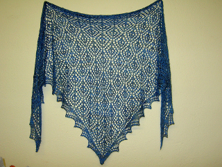 Diamond fanstasy shawl 0507
