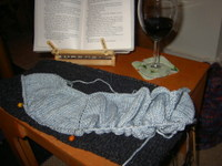 Knitting_reading_wine